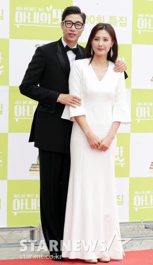 [★포토]김세진-진혜지 부부 '넘사벽 기럭지'
