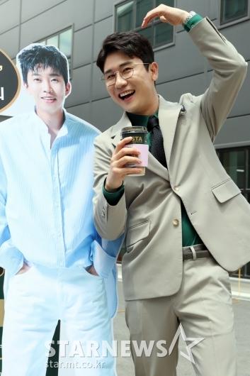 [★포토]영탁 '영웅아 사랑해!'