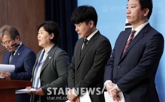 [★포토]생각에 잠긴 故 구하라 친오빠 구호인씨