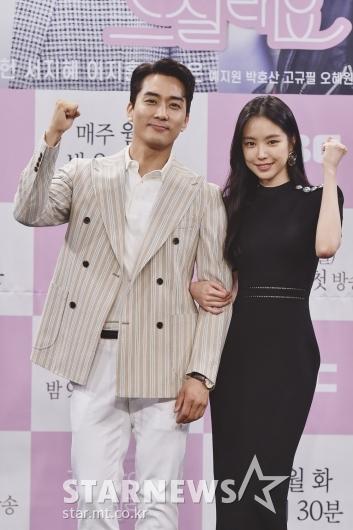 [★포토]송승헌-손나은 '선남선녀'