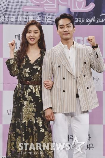 [★포토]서지혜-송승헌 '비주얼 커플'