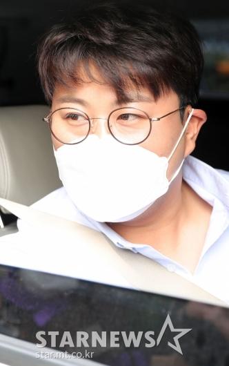 [★포토]김호중 '아침부터 잘생김'
