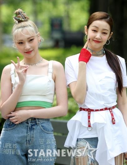 [★포토]시크릿넘버 진희-레아 '예쁜애 옆에 예쁜애'