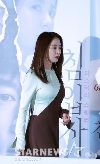 [★포토]송지효 '런닝맨 아닌 영화배우'