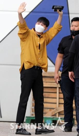[★포토]김희재 '오늘도 멋진 출근길'