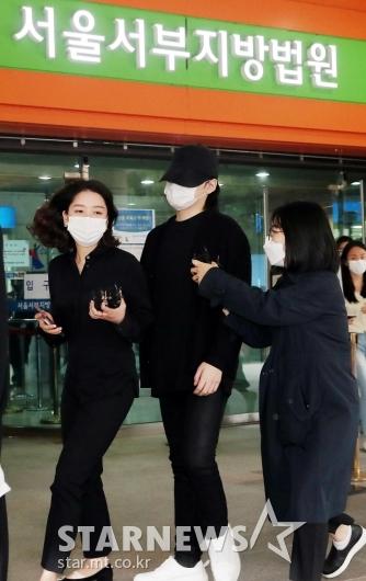 [★포토]'음주운전 혐의' 노엘, 집행유예 2년 선고