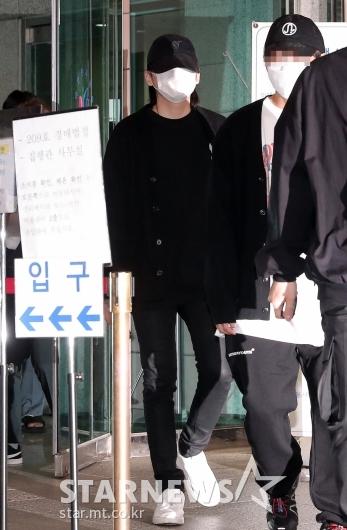 [★포토]'음주운전 혐의' 선고공판 마친 노엘