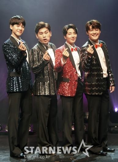 [★포토]미스터T '4인조 트로트 그룹'