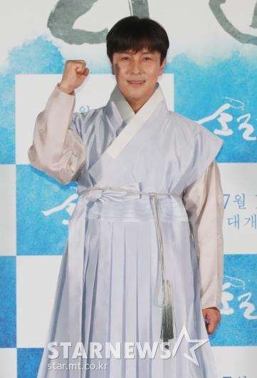 [★포토]김동완 '소리꾼, 화이팅'