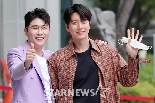 영탁-박해진 '우리 우정 찐!'[포토]