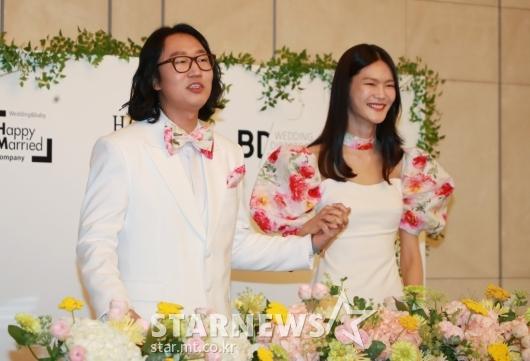 김경진-전수민 '행복하게 살게요'[★포토]