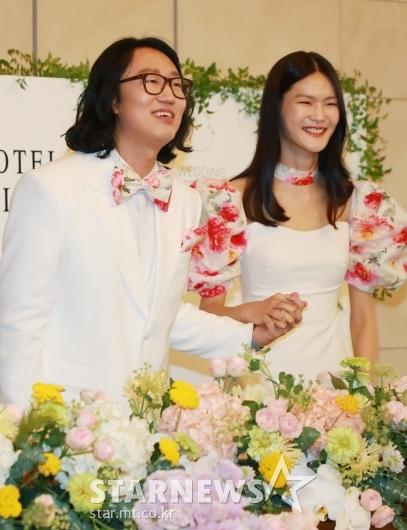 김경진-전수민 '우리 결혼해요'[★포토]