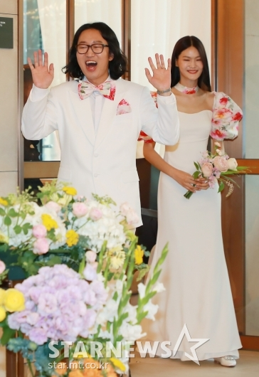 김경진-전수민 '오늘 결혼합니다'[★포토]