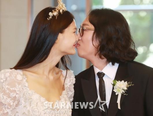 김경진-전수민 '오늘부터 부부'[★포토]