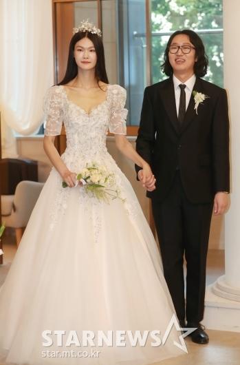 김경진-전수민 '우리 오늘 결혼해요'[★포토]