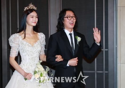 김경진-전수민 '우리 결혼 축하해주세요'[★포토]