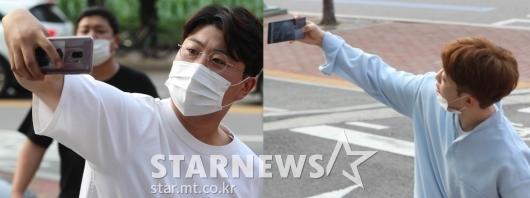 김호중-안성훈 '소중한 팬들에 인사!' [영상]