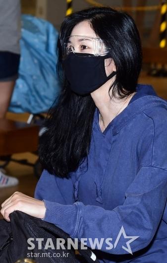 서동주 '수수한 모습으로 입국' [★포토]