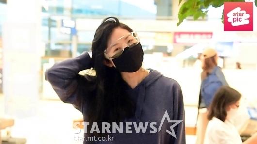 서동주 '수수한 모습으로 입국' [영상]