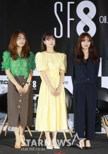 이윤정-최성은-김보라 'SF8 우주인 조안 주역들'[★포토]