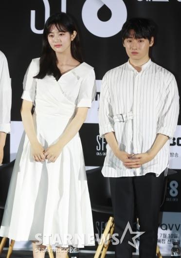 신은수-이다윗 '일주일 만에 사랑할 수 없다, 주역들'[★포토]