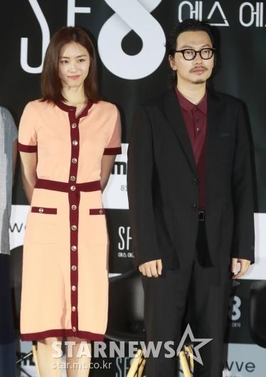 이연희-이동휘 '미녀와 야수'[★포토]