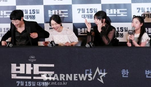 """이예원 """"강동원-이정현, 촬영하면서 처음 봤어요""""[★포토]"""