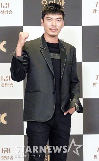 김성오 '힘 있게 파이팅!'[★포토]