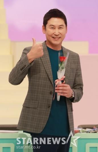 신동엽 '사랑의 재개발, 화이팅'[★포토]