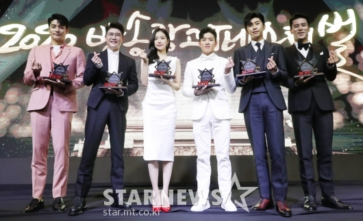 CF 스타들과 함께한 'MTN 2020 방송광고페스티벌'[★포토]