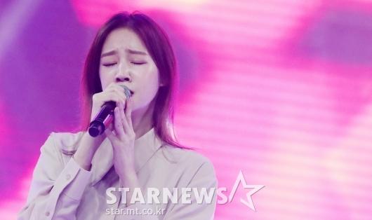 박보람 '감미로운 목소리'[★포토]