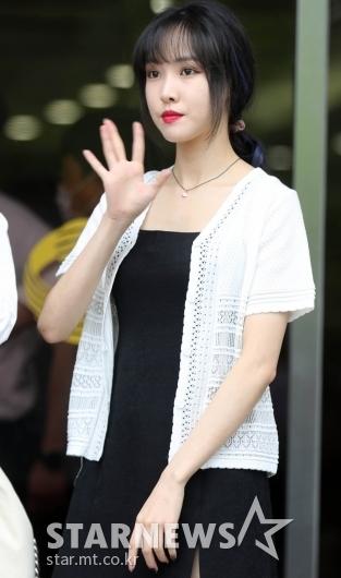 여자친구 유주 '눈빛이 매력적' [★포토]