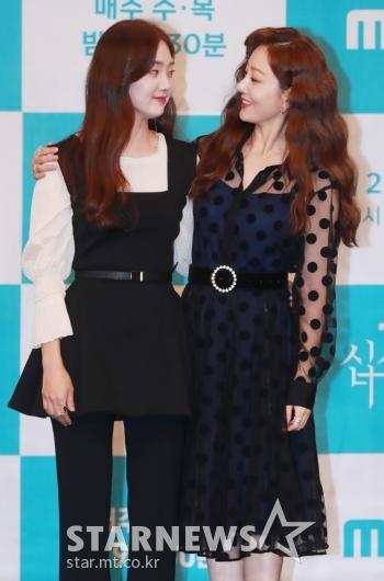 김혜준-오나라 '사랑스런 눈빛교환'[★포토]