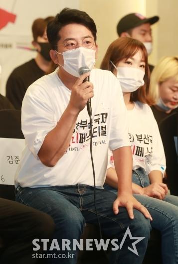 김준호 'comedy must go on'[★포토]