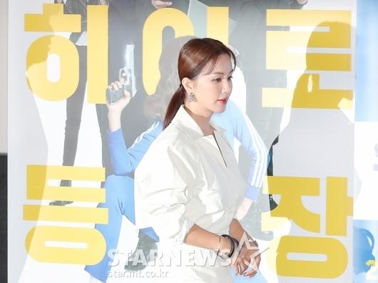 엄정화 '5년 만에 떨리는 스크린 컴백'[★포토]