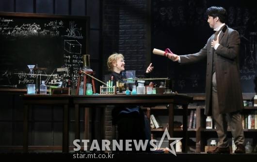 김소향-임별 '방사선 연구 시작한 퀴리부부'[★포토]