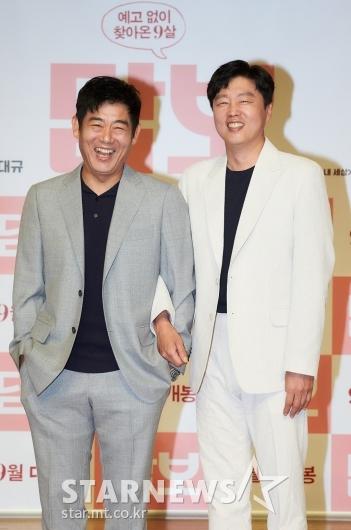 성동일-김희원 '우리 친해요'[★포토]
