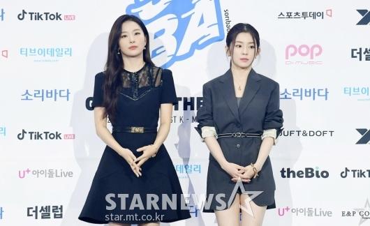 슬기-아이린 '아이돌 최강 미모'[★포토]