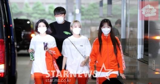 아이즈원 권은비-최예나-조유리 '운동복도 잘어울려!' [영상]
