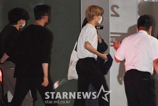 BTS 정국-지민 '배철수 음악캠프 왔어요'[★포토]
