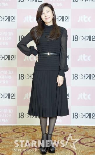 김하늘 '단아한 블랙 패션'[★포토]