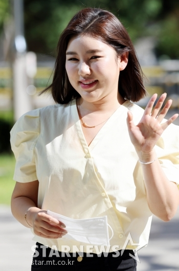 송가인 '가인이 왔어라~'[★포토]