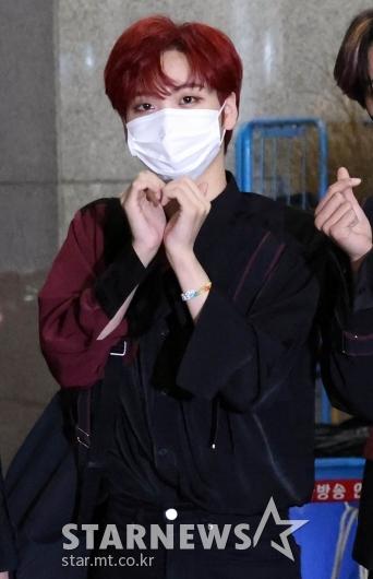 크래비티 형준 '귀여운 빨강머리' [★포토]