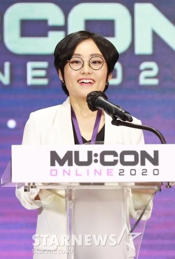뮤콘 콘퍼런스 참석한 김연정 트위터 HQ 이사[★포토]
