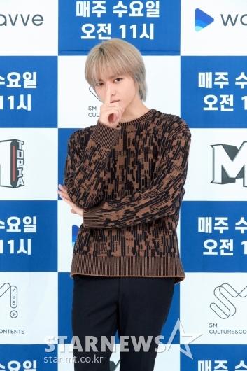 슈퍼엠 태용 '가려도 잘생김'[★포토]