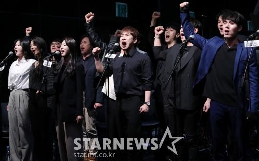 가슴 뜨거워지는 뮤지컬 '광주'[★포토]