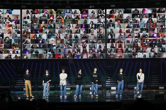 """BTS '글로벌 아미들과 함께""""[★포토]"""