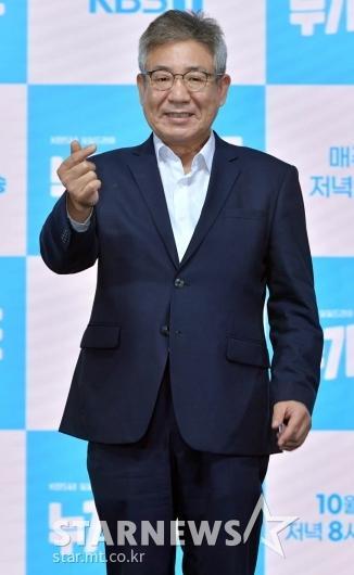 정한용 '넉넉한 아빠미소' [★포토]