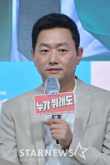 인사말하는 김유석 [★포토]