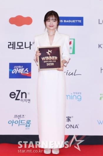 전미도 '2020 브랜드대상 신인여자배우상 수상'[★포토]